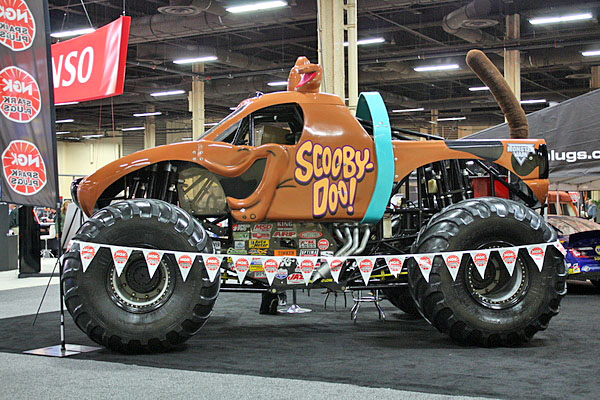NAPA EXPO cars Scooby Doo monster truck
