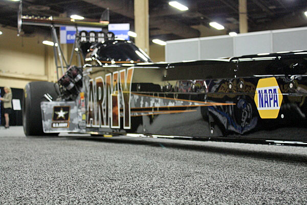 NAPA EXPO cars Tony Schumacher Top Fuel dragster