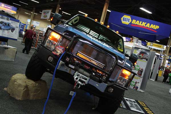 NAPA EXPO Perfect Additions Ford F-250 Stacey David Gearz