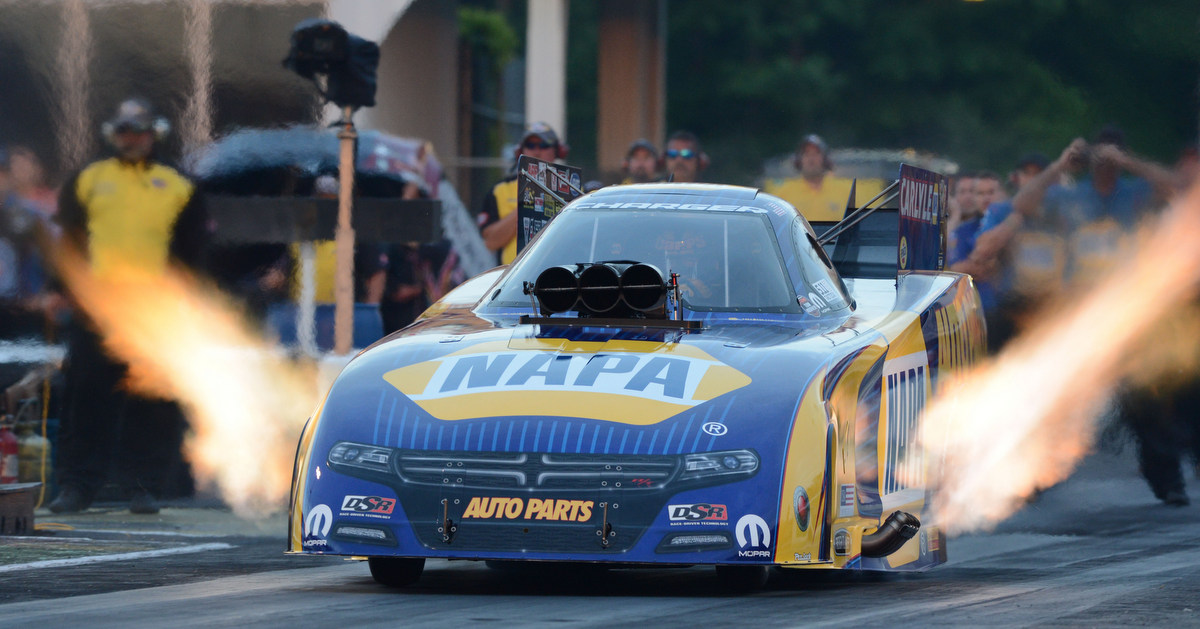 Ron Capps Carries NHRA Funny Car Points Lead to Topeka