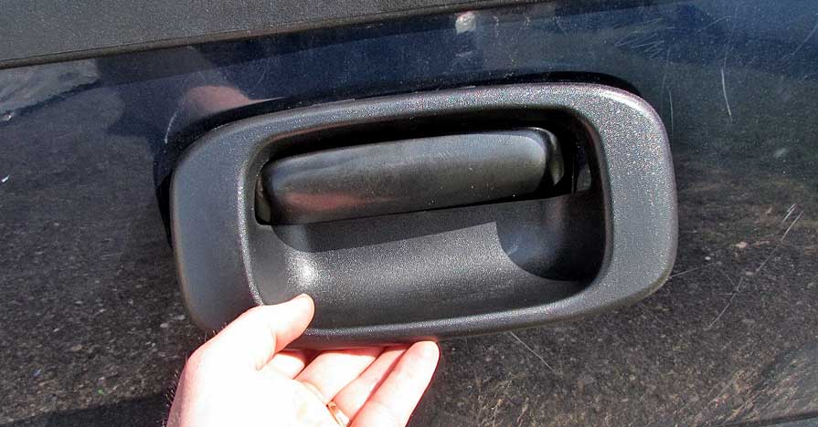 how to fix a tailgate handle & Know How Notes - How To Fix A Tailgate Handle