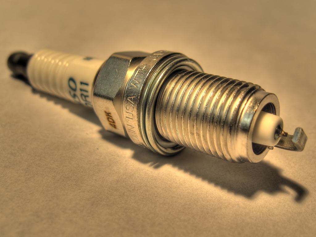 Spark plug by Razor512 on Flickr