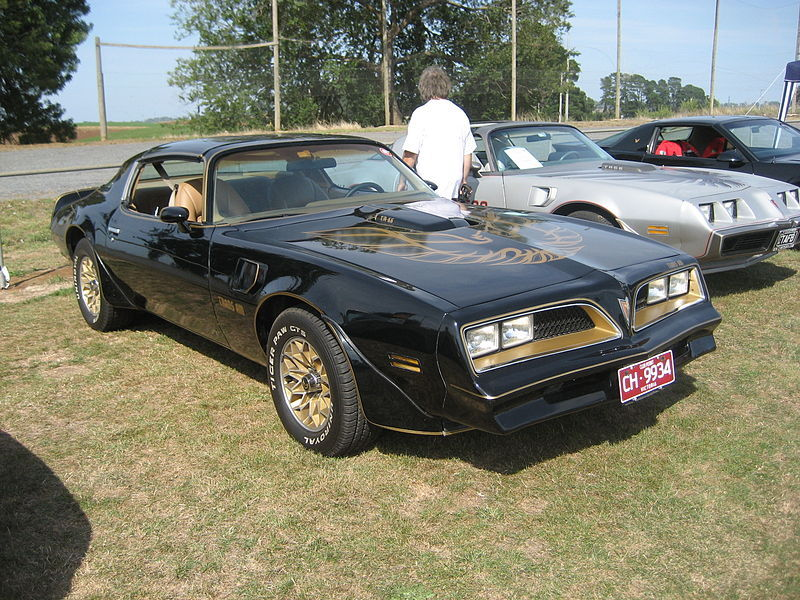 1977 Pontiac Trans Am Smokey and the Bandit.