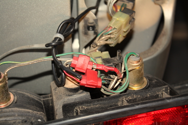 wireless backup camera wiring splice