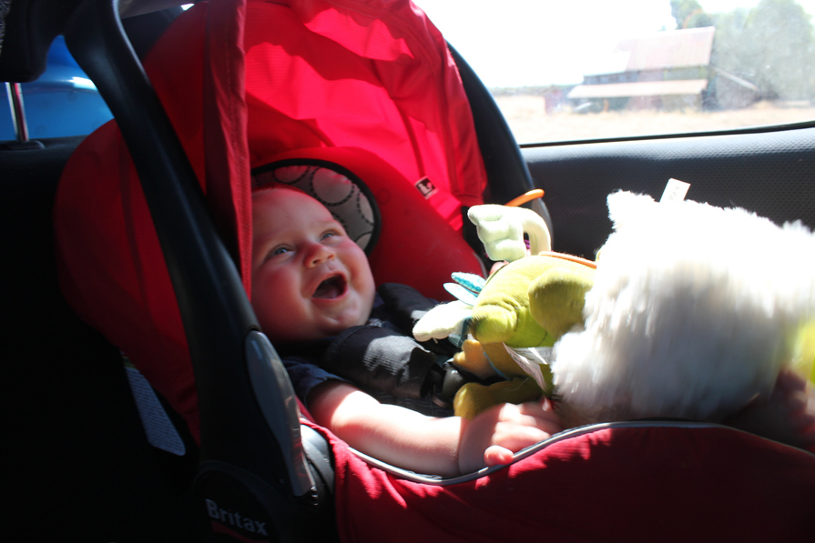 Baby-proofing will keep your baby safe and happy in the car