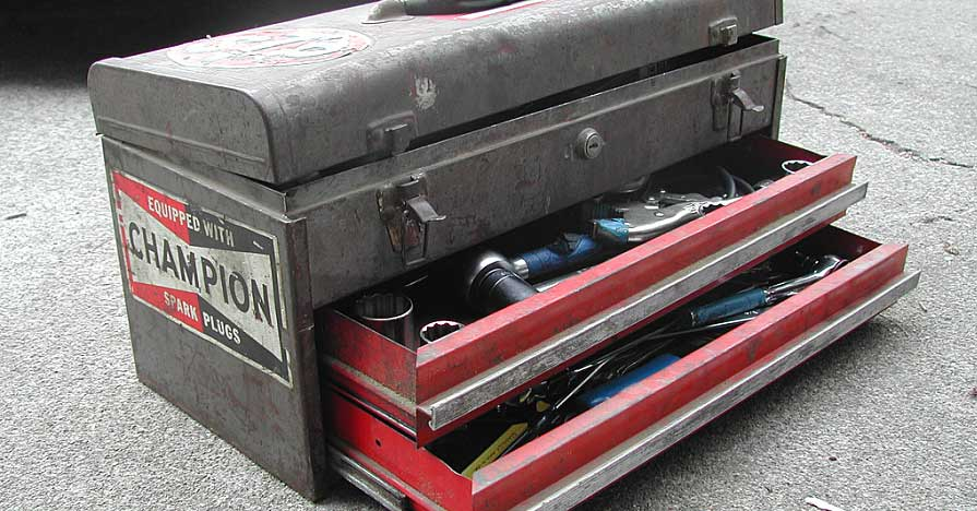 tractor tool box