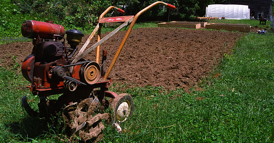 How to fix a rototiller and save time and money.