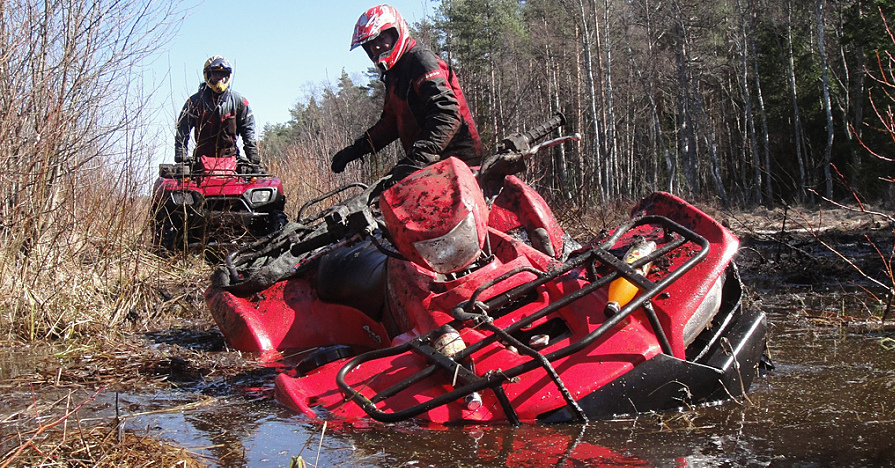 What To Do When Your ATV Gets Stuck: 5 Helpful HintsNAPA Know How Blog