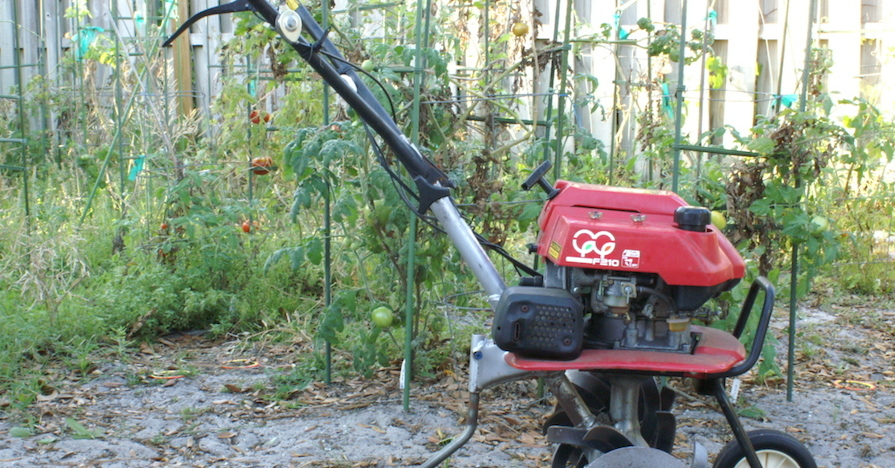 How to Rototill a Garden