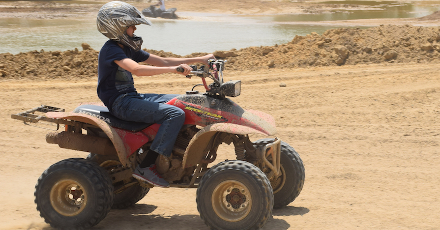 Resultado de imagen para All-terrain vehicles (ATVs) child