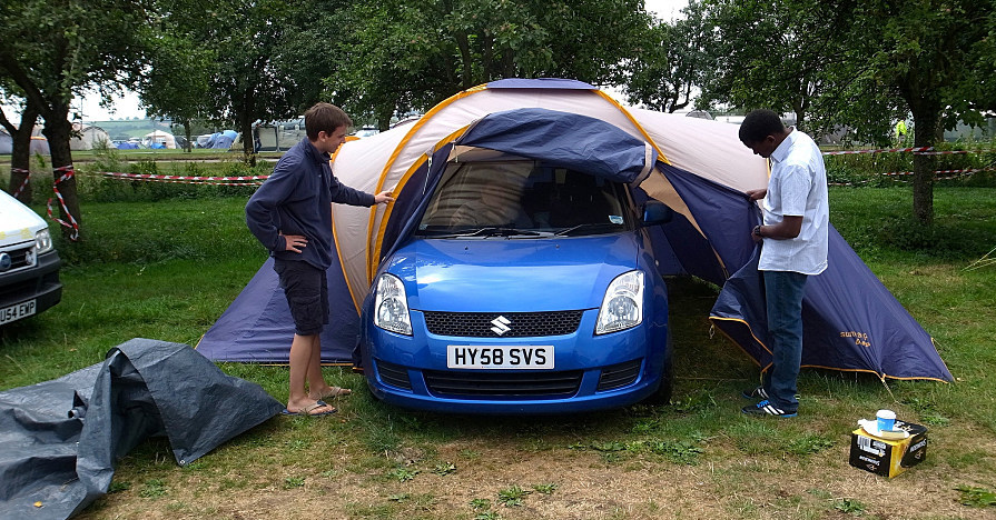 Roof Tent Car And Van Cing