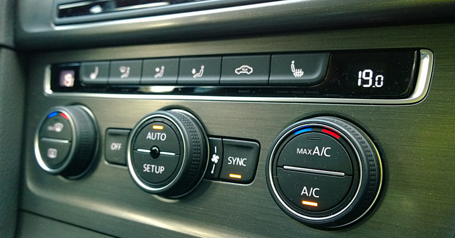 car air conditioner controls
