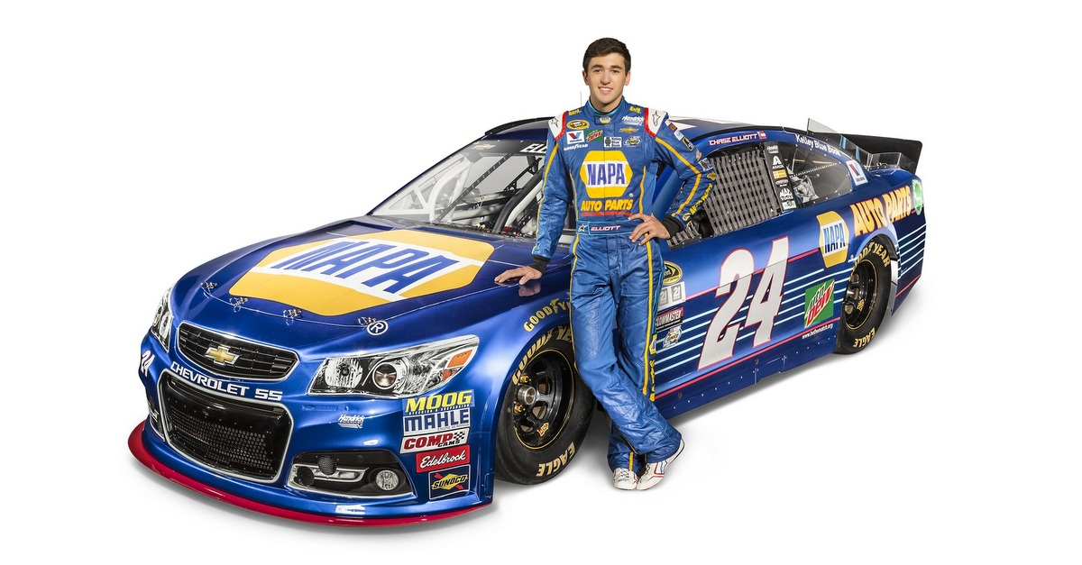 What Car Will Chase Elliot Be Driving In