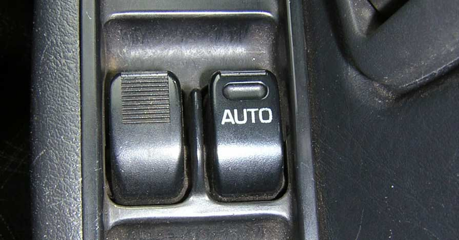 Car window switch