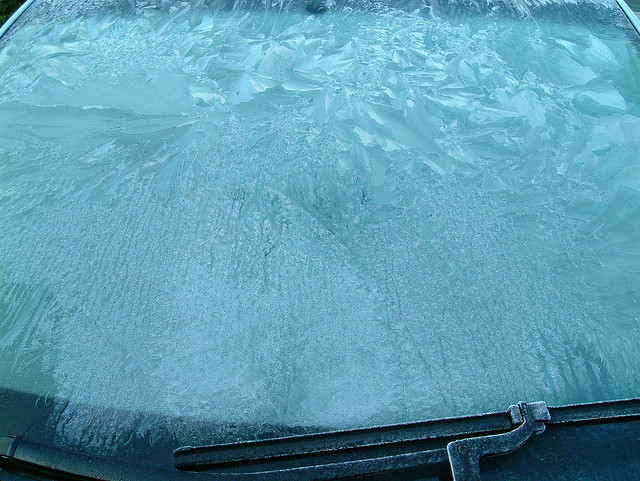 Never use wipers to clear ice off your windshield, even if they