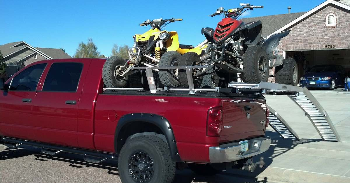 pickup truck bed