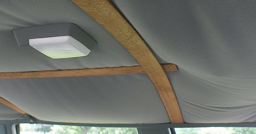How to fix a drooping headliner