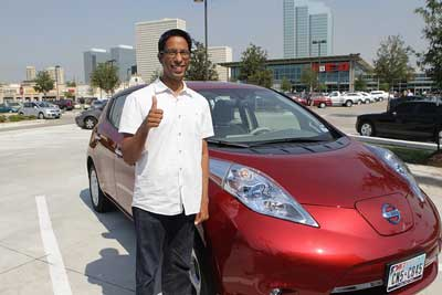 The Nissan Leaf is an all-electric vehicle requiring minimal maintenance.
