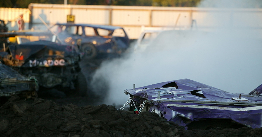 Demolitionderby cars