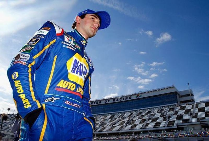 Chase Elliott NAPA AUTO PARTS 2016 Daytona 500 Pole Winner low