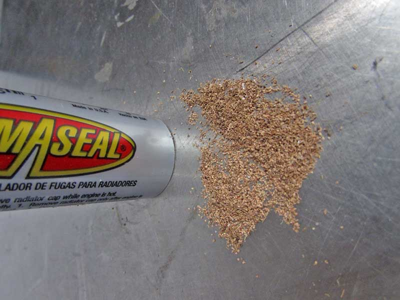 AlumAseal® powder is a proprietary mix that when heated in water, seals pinholes and leaks.