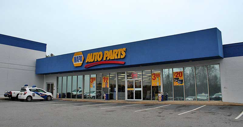 NAPA AUTO PARTS Atlanta Main Counter Grand Reopening Lifting Jacks