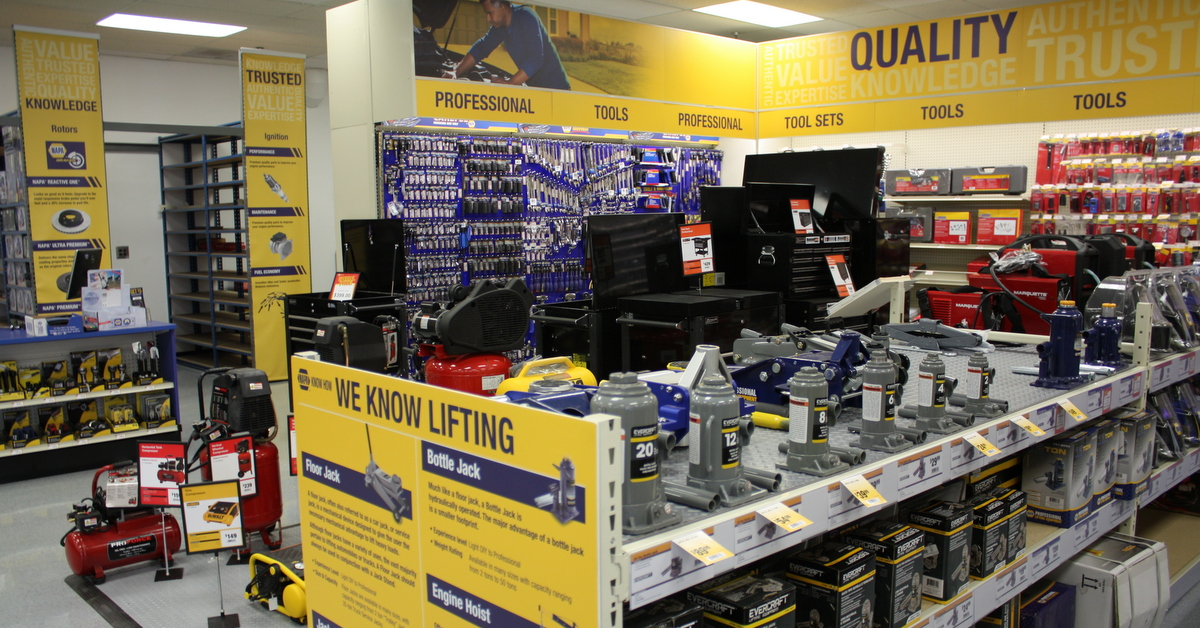 NAPA AUTO PARTS Atlanta Main Counter Grand Reopening tool clearance sale