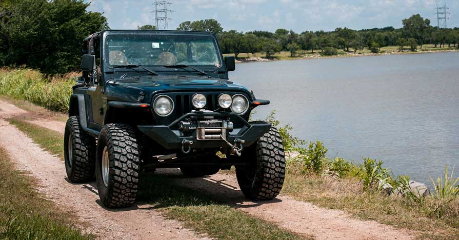 Customized Jeep