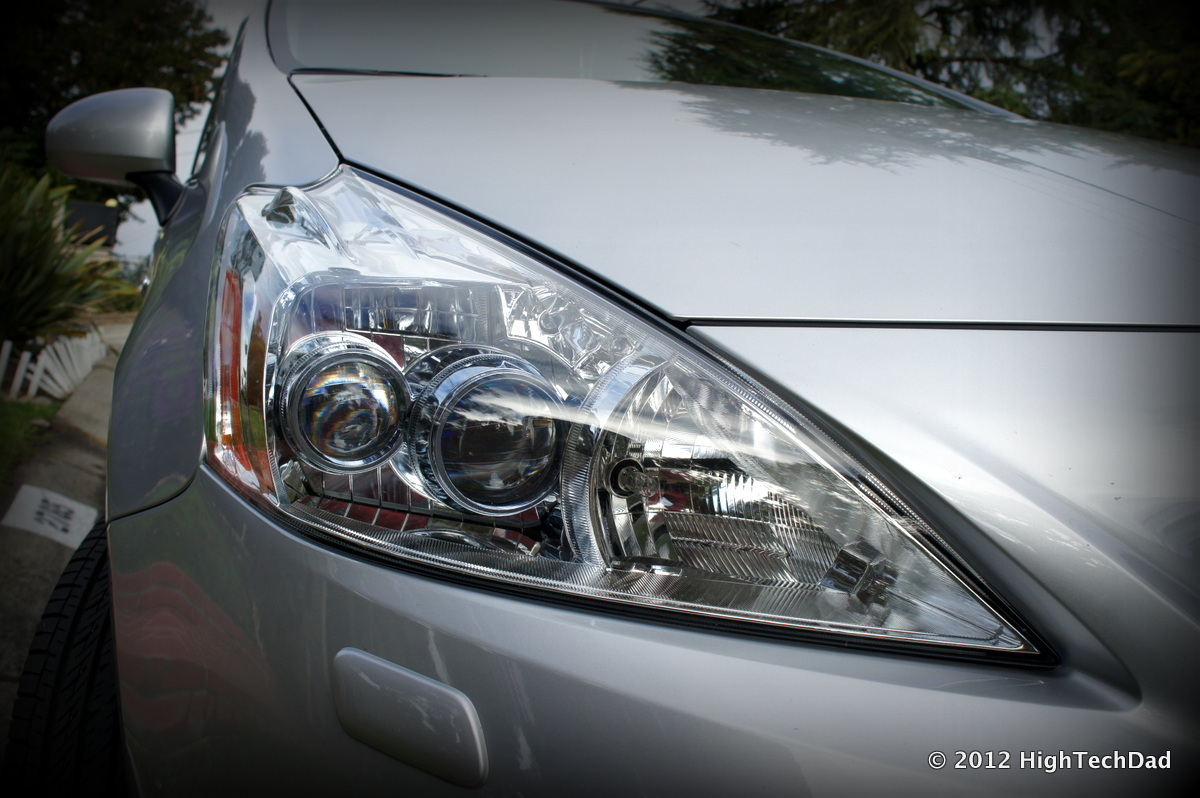 A car headlight