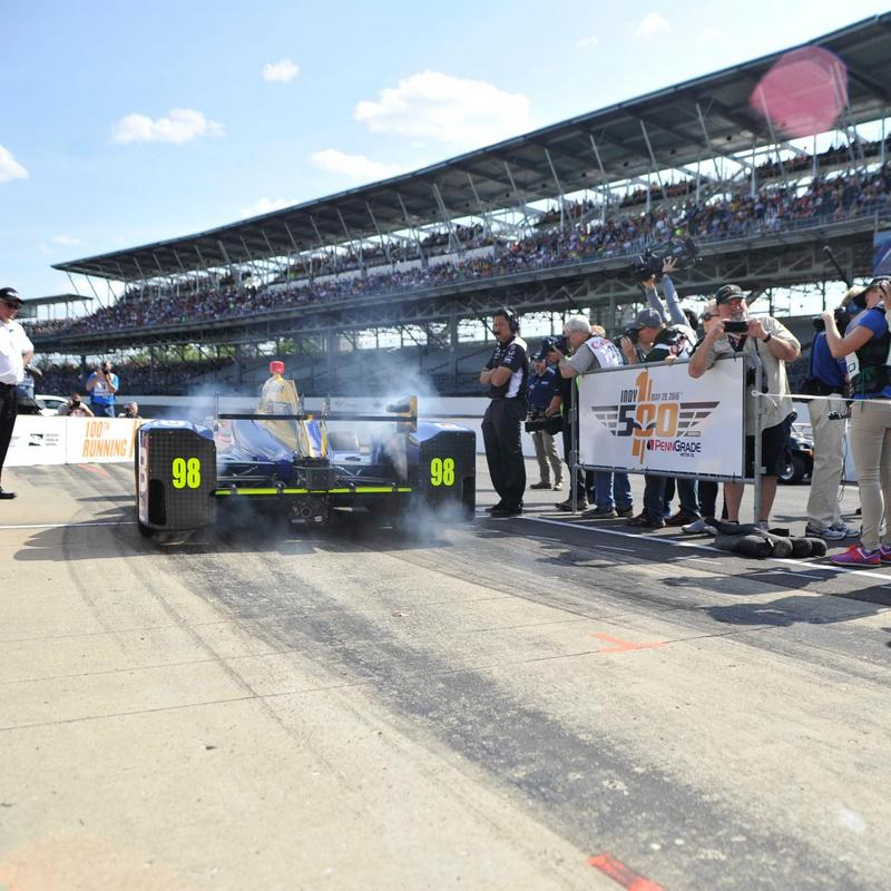 Alexander Rossi Indy 500 qualifying NAPA AUTO PARTS 98 Andretti Indycar pole start