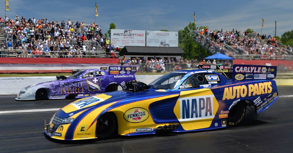NAPA's Capps Returns to Heartland Park Topeka, Site of Three Wins
