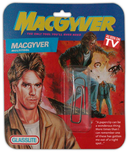 MacGyver Essential Car Tool Kit - P/N:M00001