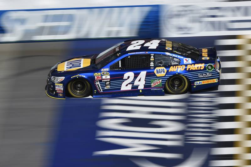 10-12 June, 2016, Brooklyn, Michigan USA Chase Elliott (24) ©2016, LAT Photo USA
