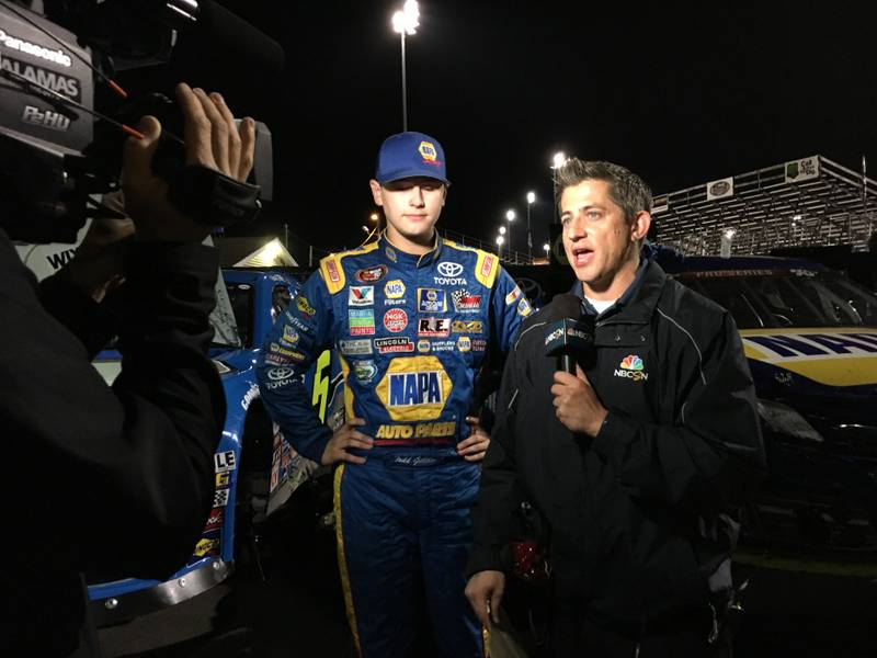Todd Gilliland TV interview with Derek Stafford 2016