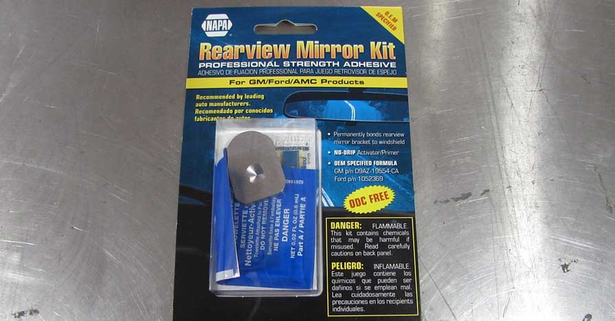 rearview mirror repair kit