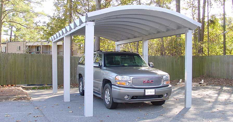 Protect your car from the sun with a carport.