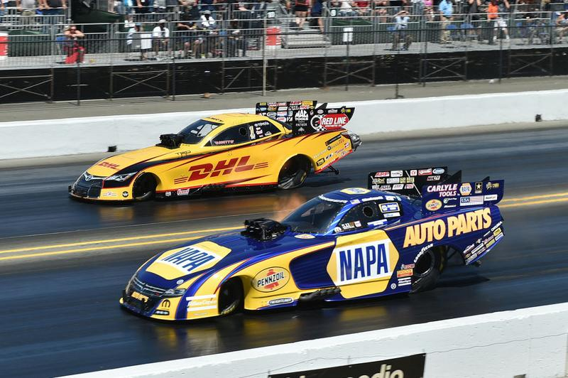 Funny Car Air Cleaner : Ron capps drops close final to force extends points lead
