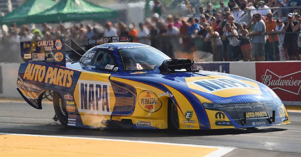 NHRA-Funny-Car-Points-leader-Ron-Capps-NAPA-Dodge-Maple-Grove-preview-2016