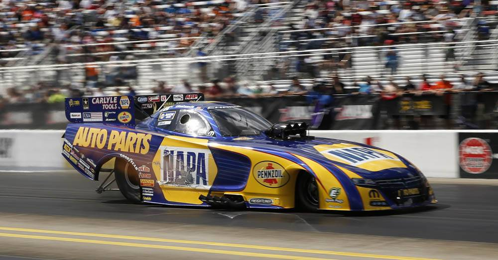 Capps Extends NHRA Countdown Lead with NAPA Dodge