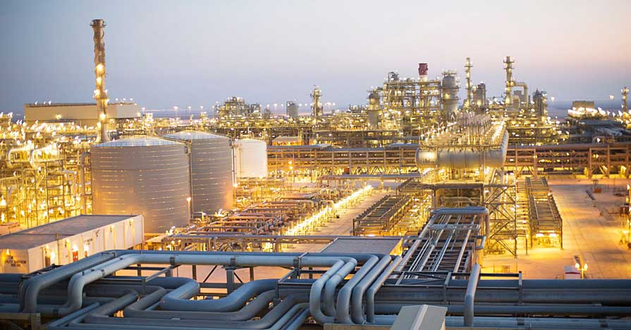 Shell Pearl Oil GTL refinery