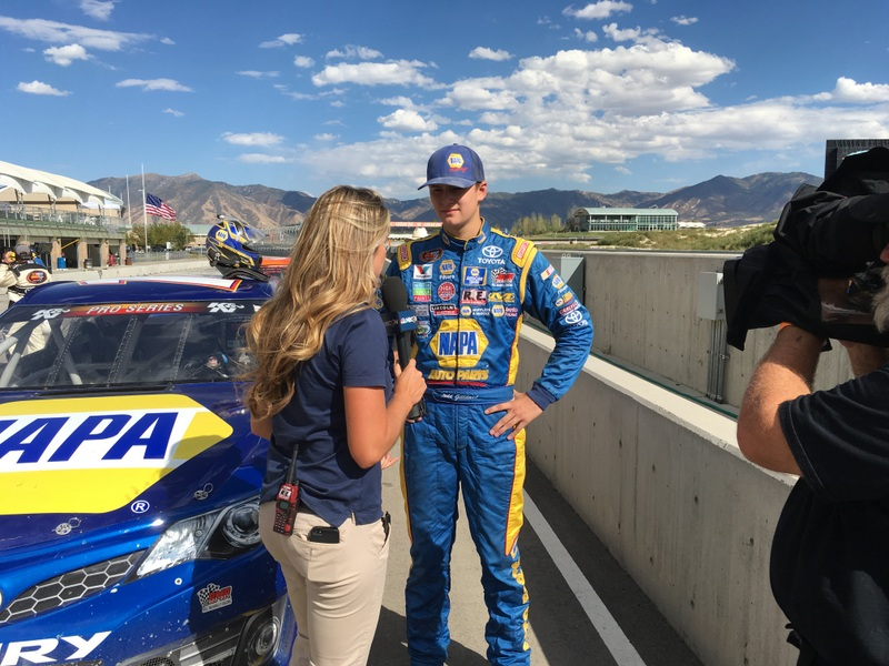 Todd Gilliland NAPA AUTO PARTS KN Pro Series West Utah 2016 Interview