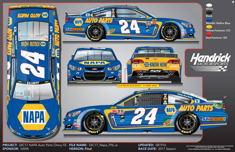 Image result for chase elliott 2017
