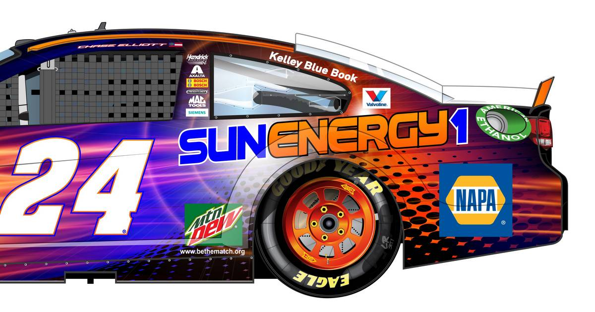Chase-Elliott-Sun-Energy-driver-NAPA-AUTO-PARTS-Kansas-Speedway-preview