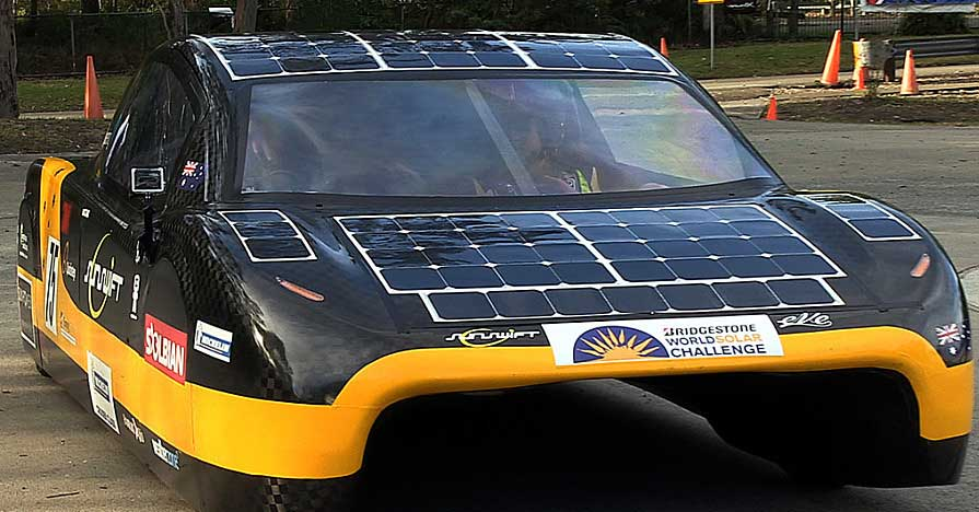Solar Cars Aren't Ready for Modern Roads, Not Yet Anyway