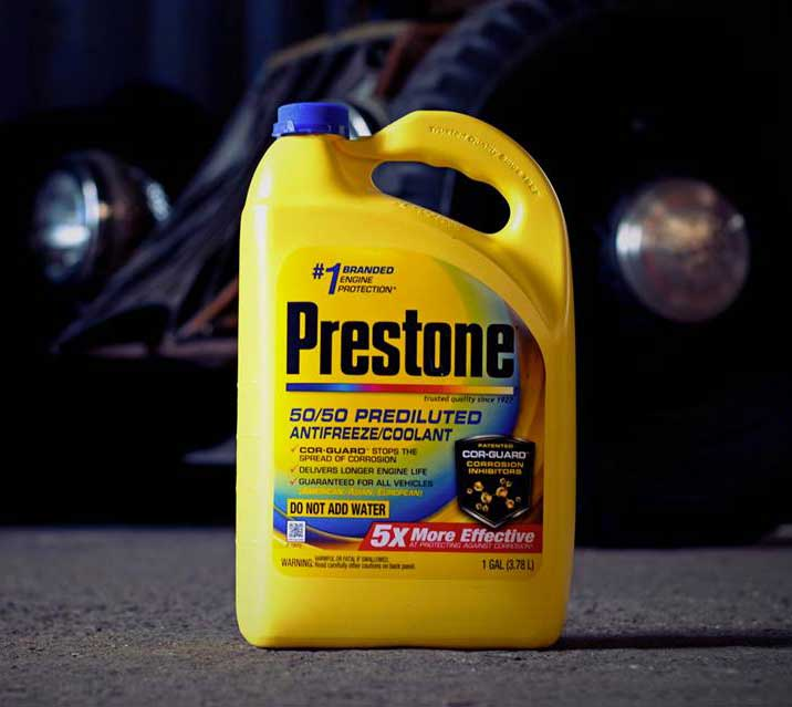 Prestone pre-mixed antifreeze