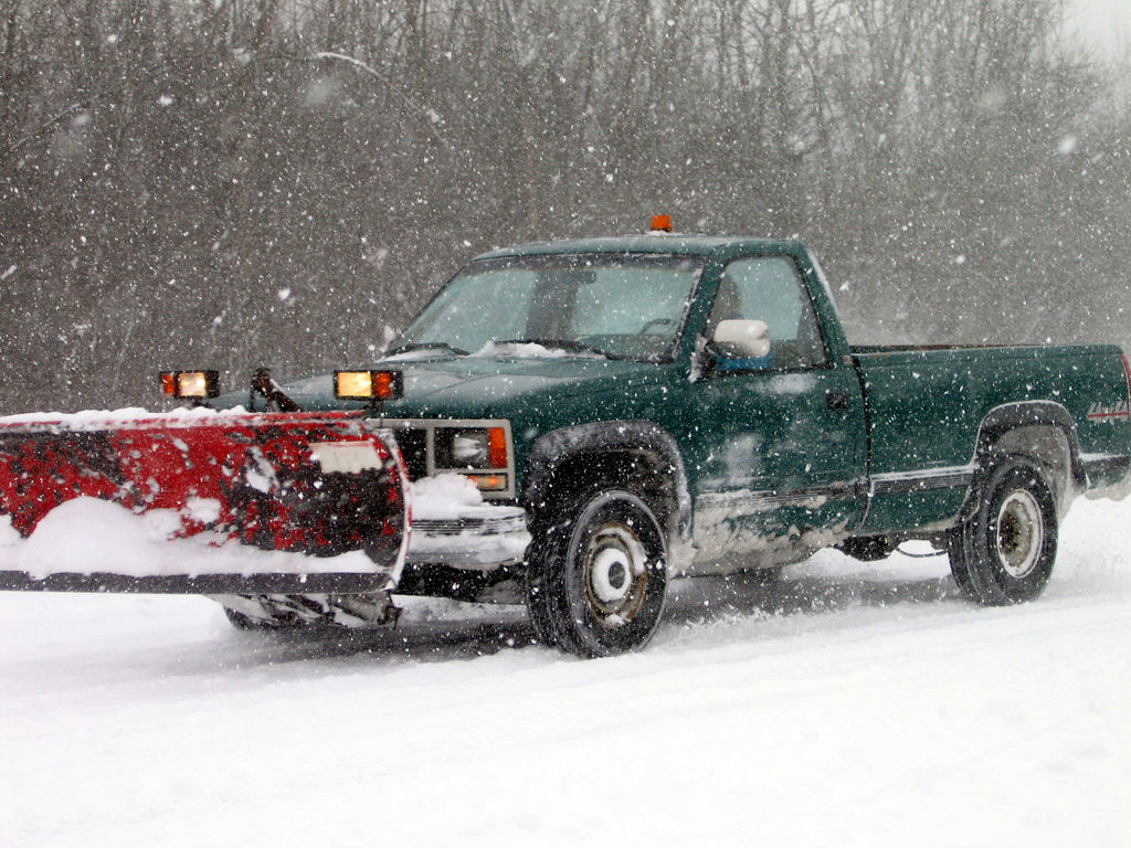 Choosing The Right Plow Truck This Winter