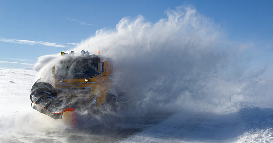 Winter Snowplowing Equipment