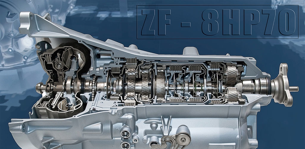 Chrysler ZF Eight-Speed Automatic Transmission