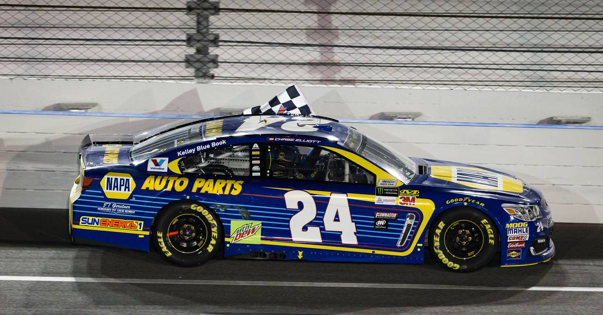 2017 NASCAR Monster Energy Cup - Can-Am DuelsDaytona International Speedway, Daytona Beach, FL USAThursday 23 February 2017Chase Elliott winsWorld Copyright: Barry Cantrell/NKP