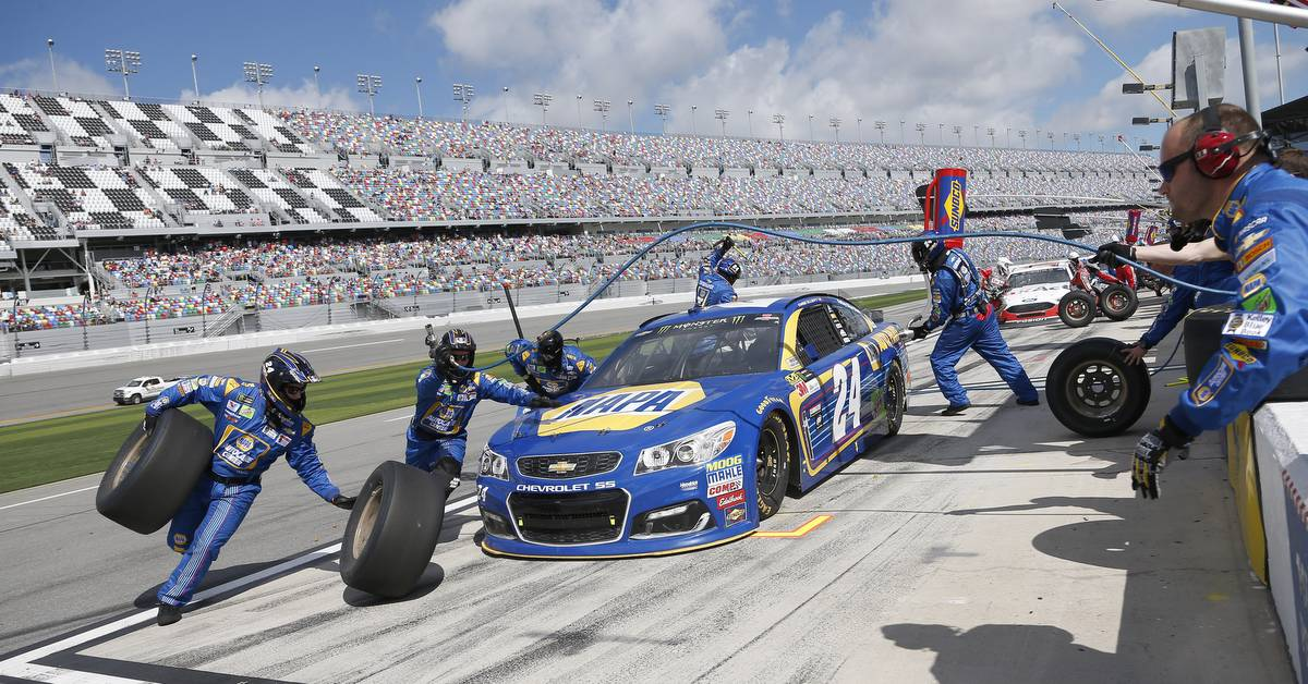 2017 NASCAR Cup - Clash at Daytona Daytona International Speedway, Daytona, FL USA Sunday 19 February 2017 Chase Elliott World Copyright: Matthew T. Thacker/NKP